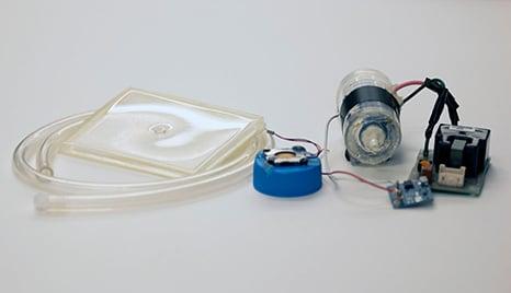 اجزا دستگاه ازون تراپی +نرم افزار دیابت درمان دکتر
