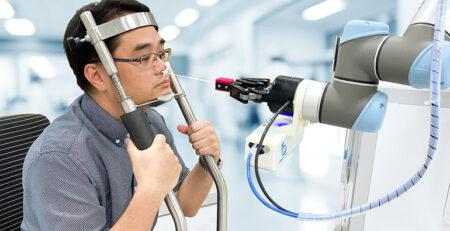 دستگاه سواب بینی + ترم افزار گوش و حلق و بینی دزمان دکتز